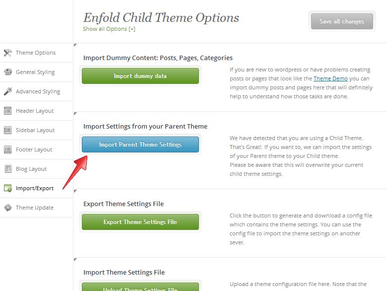 Using a Child Theme – Enfold Theme Documentation