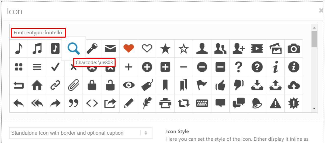Icon – Enfold Documentation