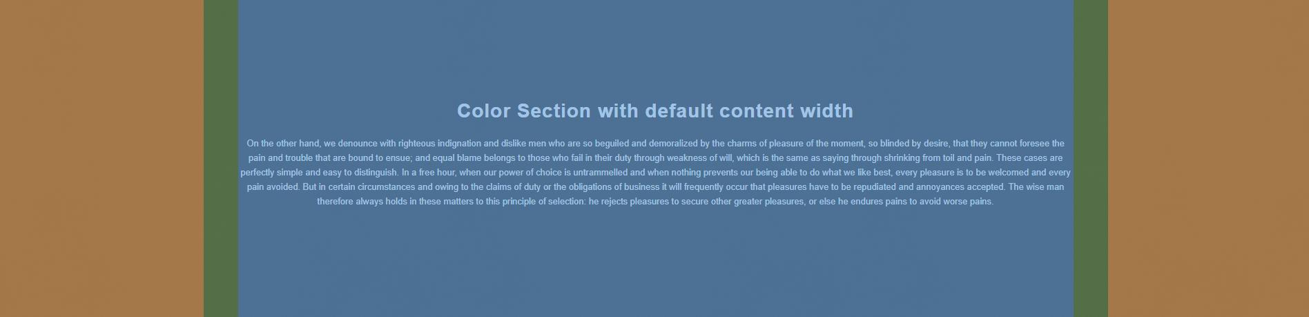 Color Section – Enfold Documentation