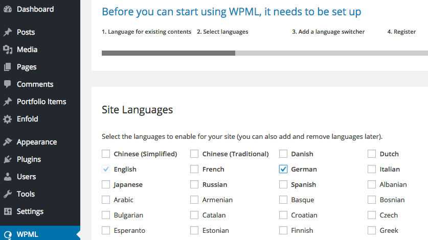 Add German language