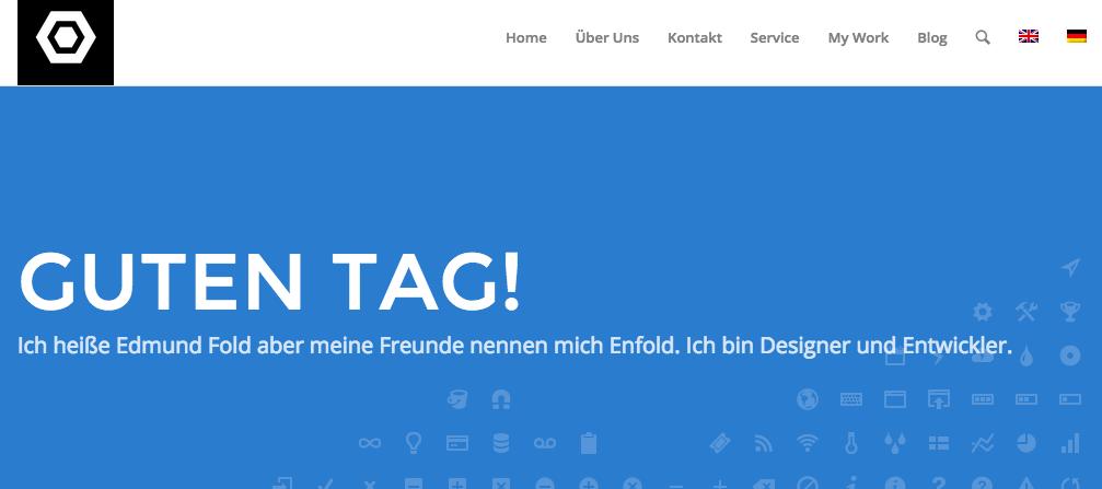 German menu changes applied