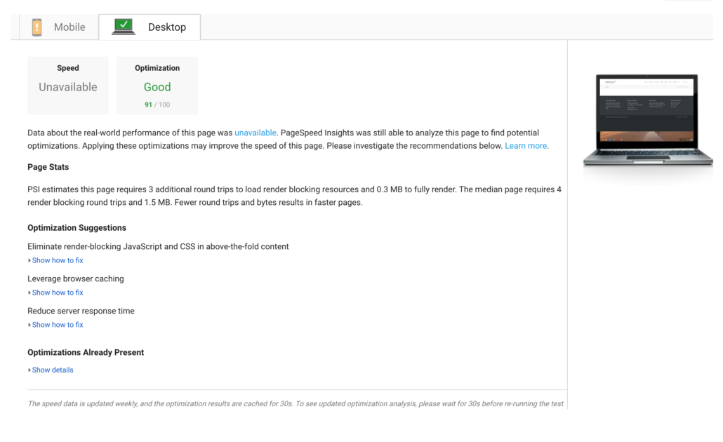 Scoring 100/100 in Google PageSpeed Insights, GTmetrix PageSpeed and